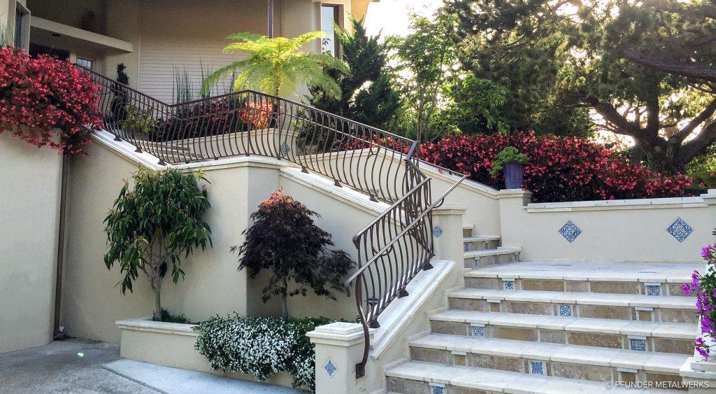 Carmel residential railing