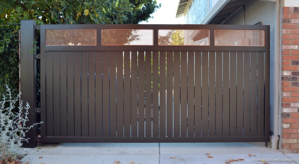 Contemporary Residential Gate