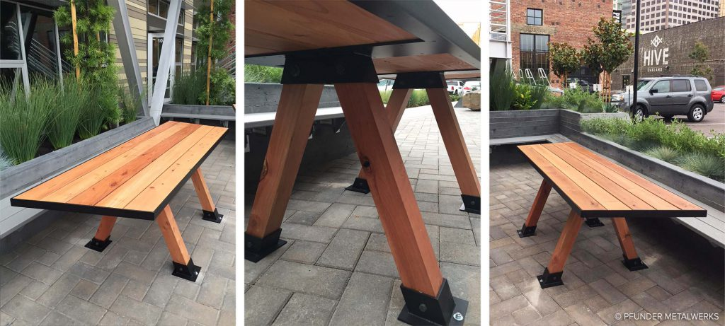 The Hive Picnic Tables