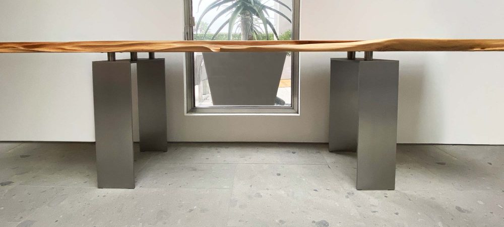 Modern Stainless Steel Table Legs