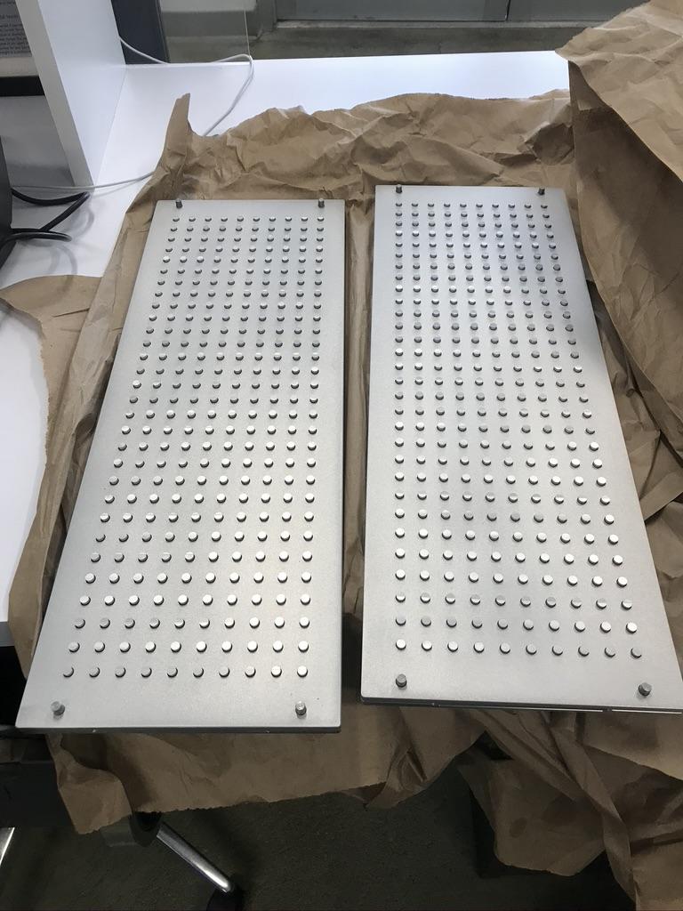 Aluminum machined prototype assembled