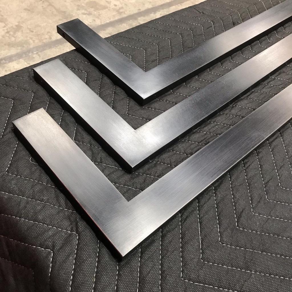 Shelving frames detail
